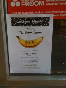 The Banana Sessions Poster