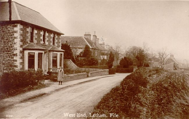 West End, Letham - c 1920