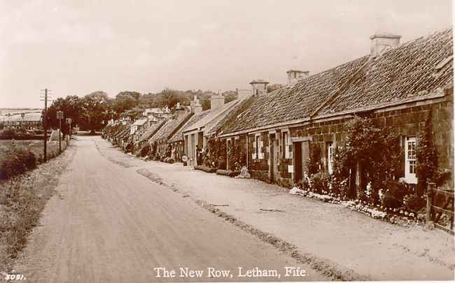 The New Row, Letham  (c 1920)