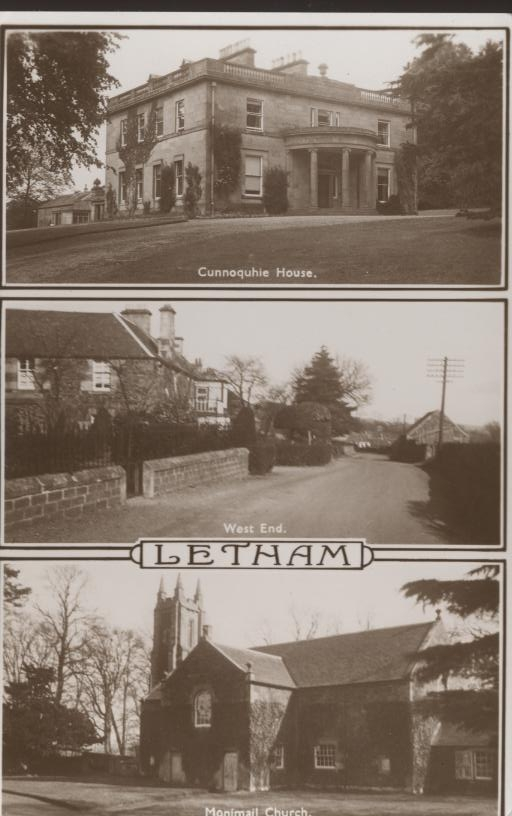 Postcard from letham (1960?)
