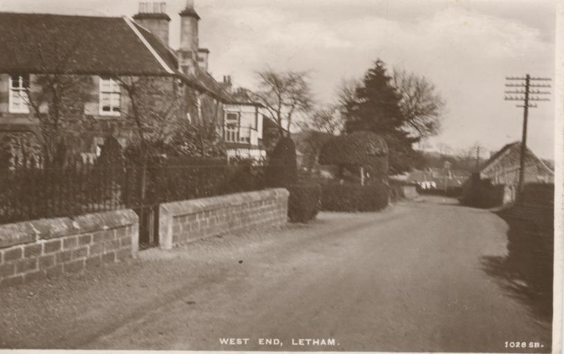 Westend of Letham (1930?)